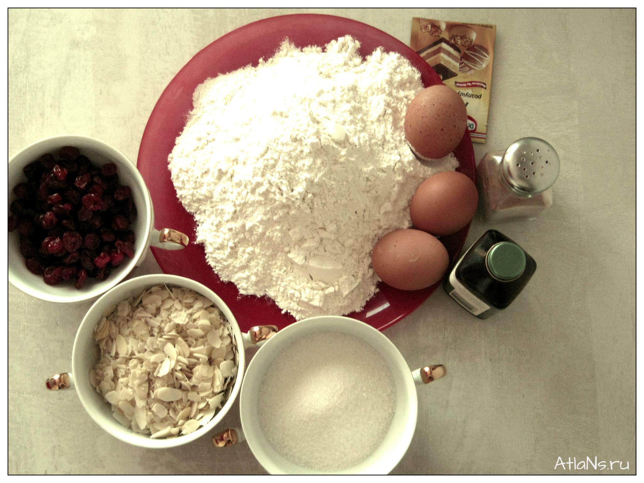 1 ингредиенты для кантучини