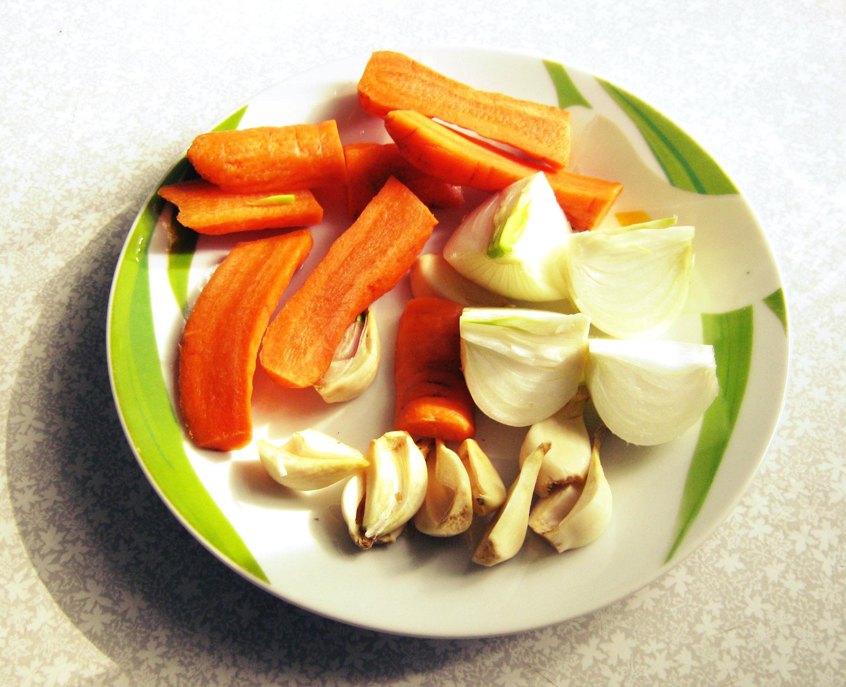 2 овощи для рульки